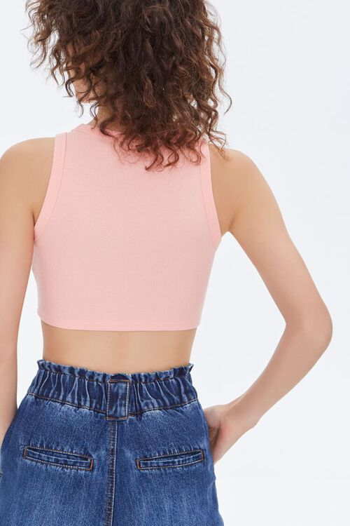 Scalloped Cropped Tank Top, image 3