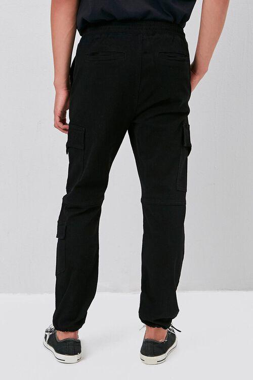 Zippered Drawstring Cargo Pants, image 4