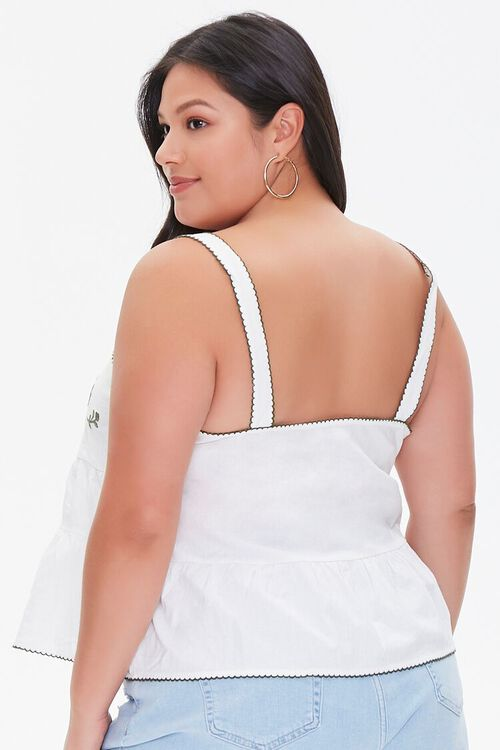 Plus Size Embroidered Top, image 3