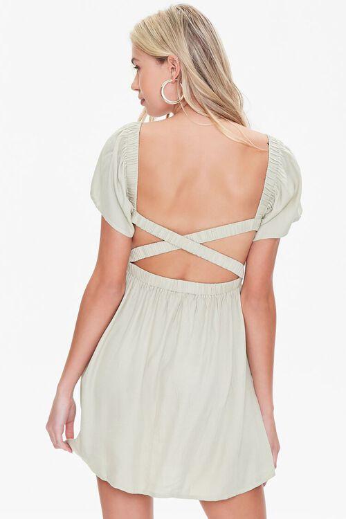 Crisscross Mini Dress, image 3