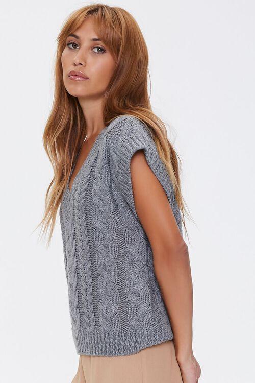 Pointelle Knit Sweater Vest, image 2
