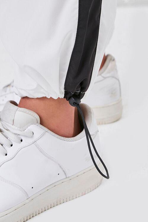 BLACK/WHITE Colorblock Windbreaker Pants, image 5