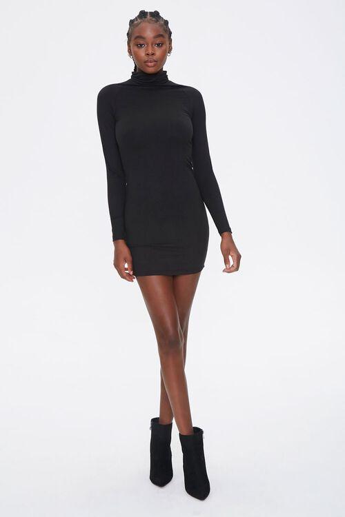 Turtleneck Bodycon Dress, image 4
