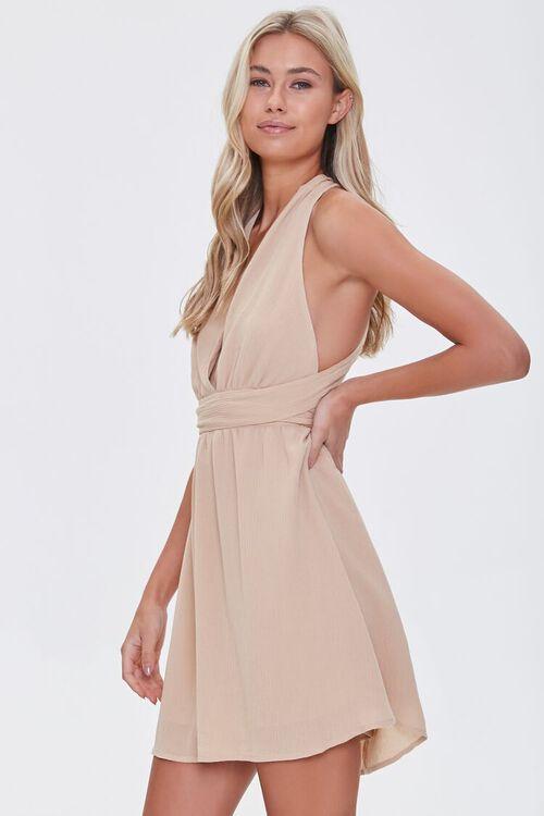 Surplice Mini Dress, image 2