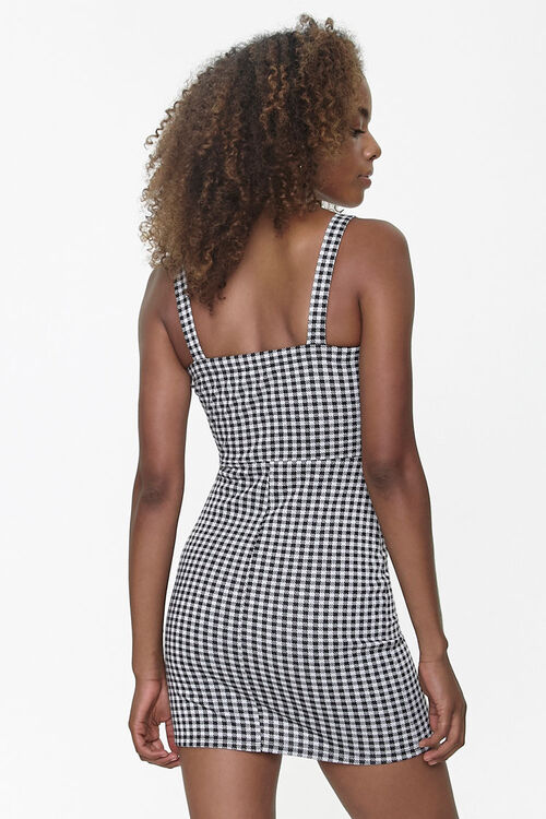 Gingham Bodycon Dress, image 3