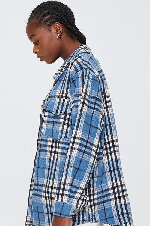 Plaid Button-Front Jacket, image 2