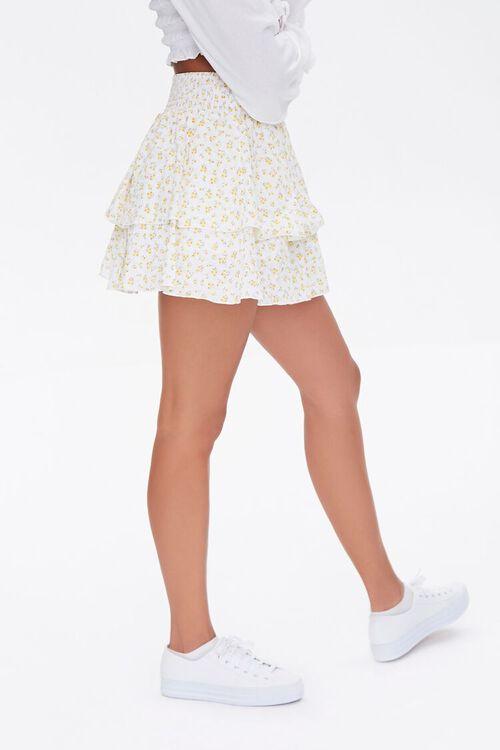 Floral Mini Skirt, image 3