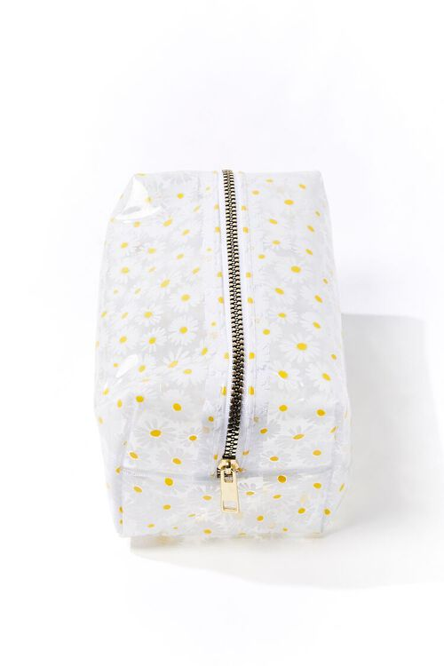 Daisy Print Square Pouch, image 2