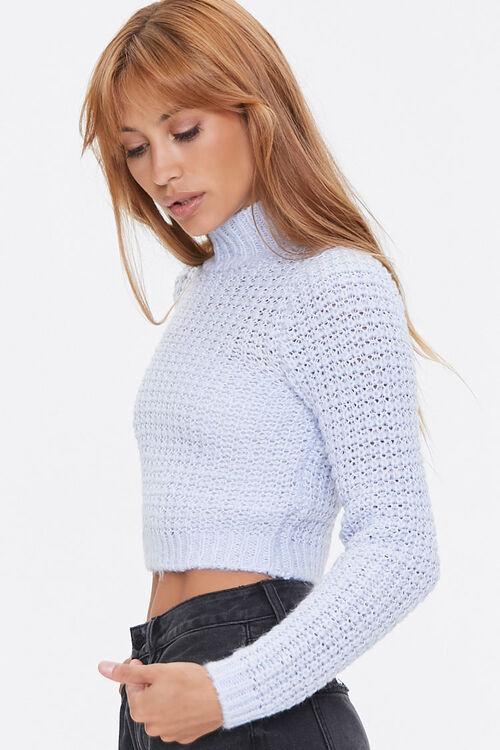 Cropped Mock Neck Sweater, image 2