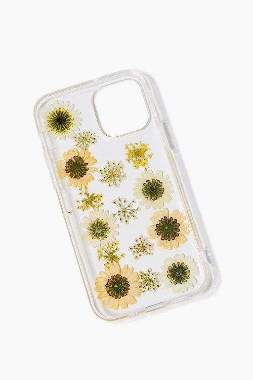 YELLOW/CLEAR Sunflower Case for iPhone 12, image 2