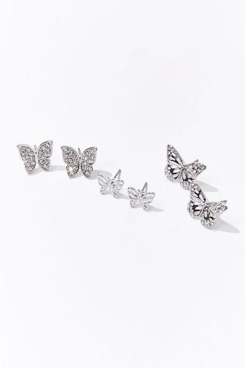 Filigree Butterfly Stud Earrings, image 1