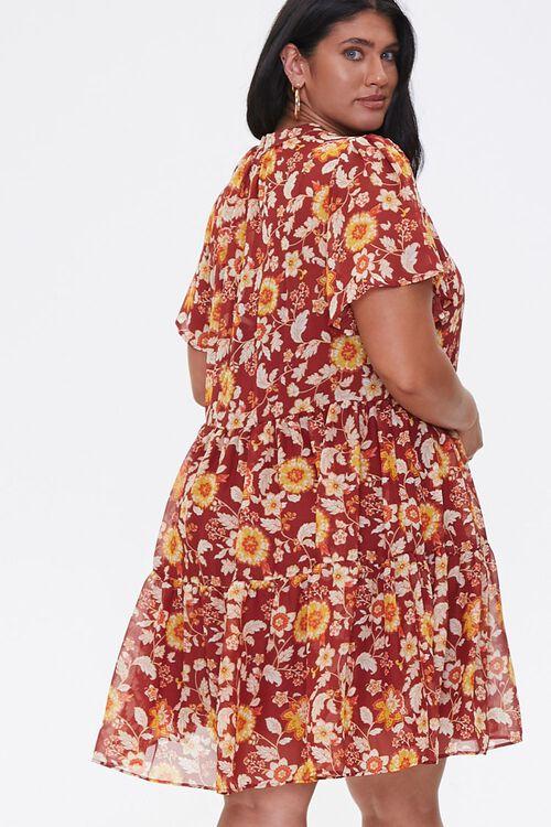 Plus Size Floral Dress, image 3