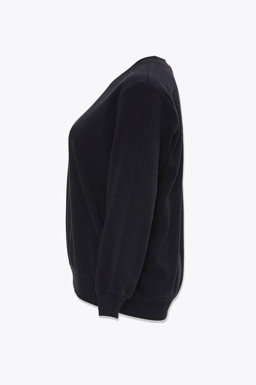 Plus Size Crew Sweatshirt Set, image 2