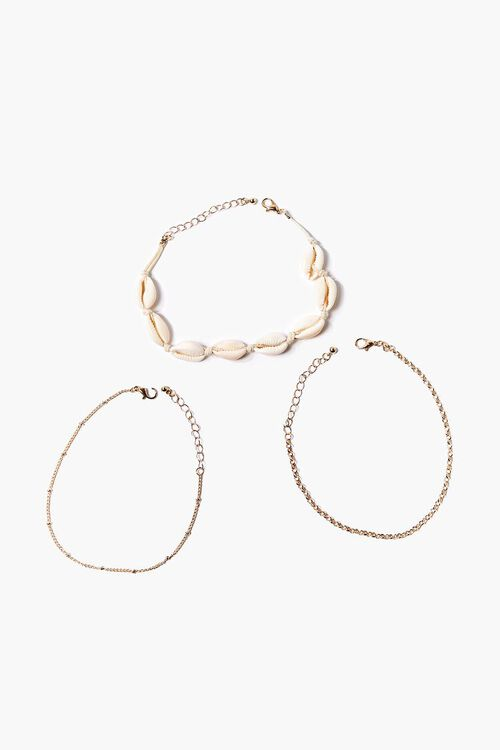 Cowrie Shell Anklet Set, image 2