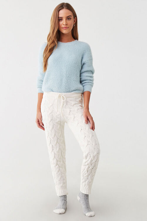 Cable-Knit Ankle Pants, image 4