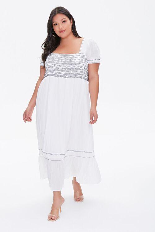 Plus Size Gauze Maxi Dress, image 1