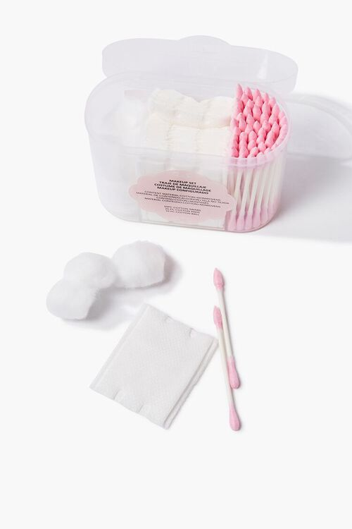 Cotton Ball, Swab & Pad Makeup Set, image 1