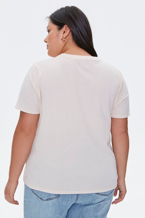 Plus Size Organic Cotton Better Together Tee, image 3