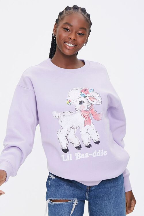 Lil Baa-ddie Graphic Pullover, image 1
