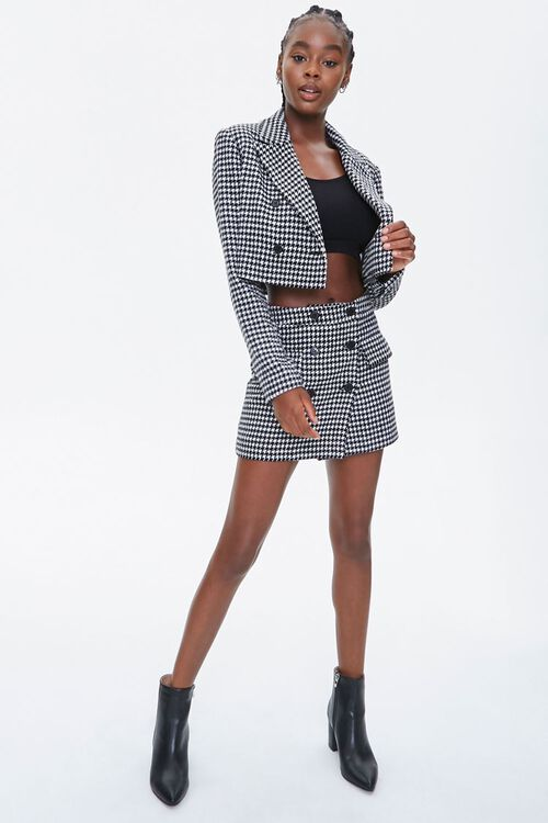 Houndstooth Mini Skirt, image 5