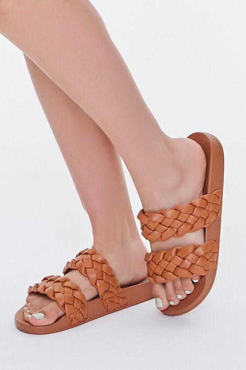 Braided Slide Sandals, image 1