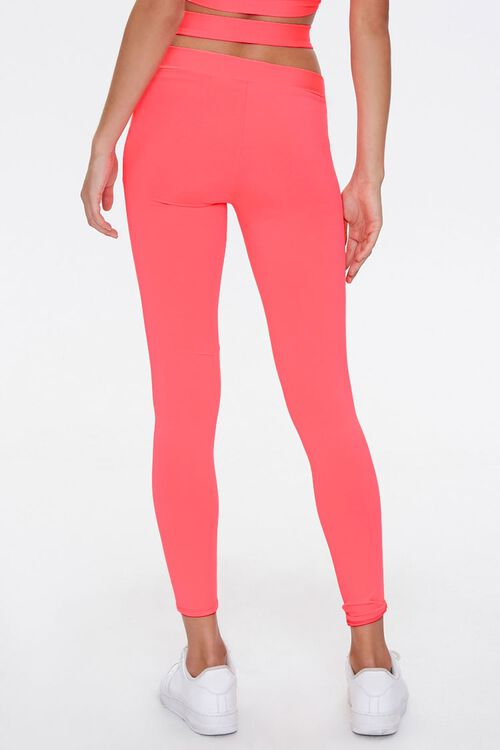 Active Crisscross Cutout Leggings, image 4