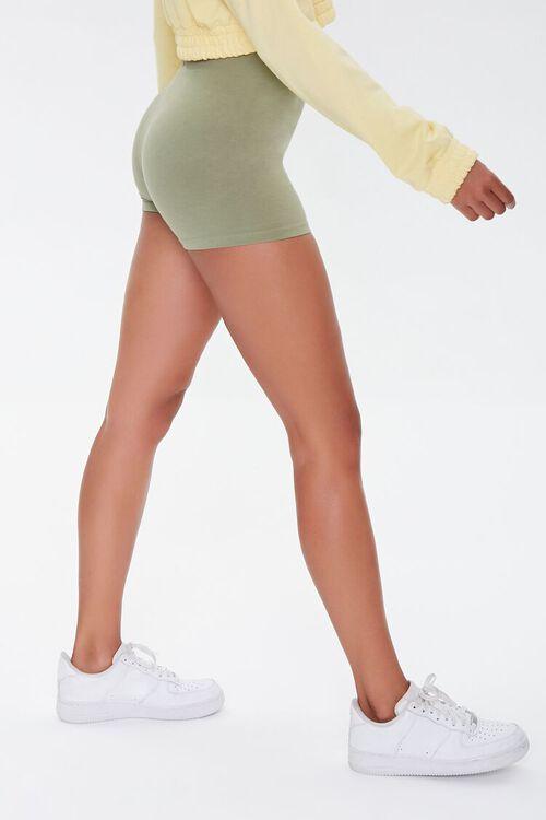 Basic Organically Grown Cotton Hot Shorts, image 3