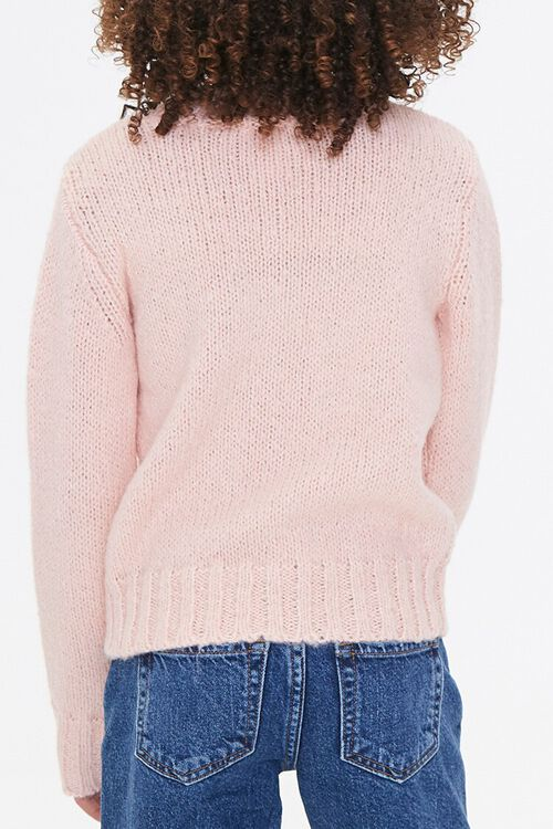 Girls Cable Knit Sweater (Kids), image 3