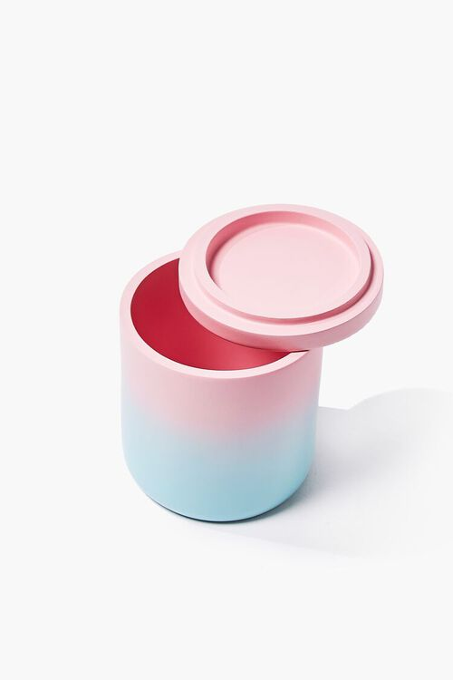 PINK/BLUE Ombre Resin Canister, image 2
