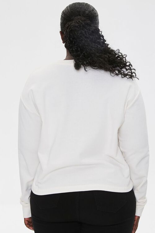 Plus Size Be Kind Graphic Pullover, image 3