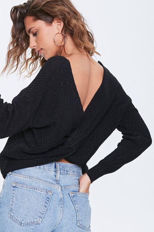 Crossover Dolman Sweater, image 1