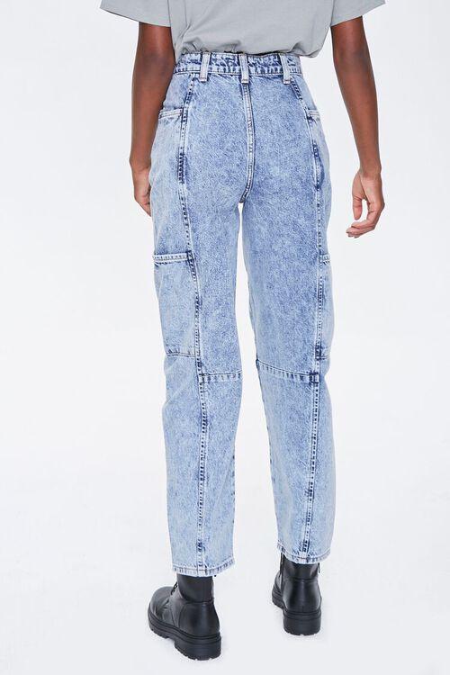 ACID DENIM Relaxed Acid Wash Jeans, image 4