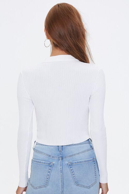 Ribbed Sweater-Knit Shirt, image 3