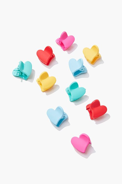 Heart Claw Hair Clips, image 1