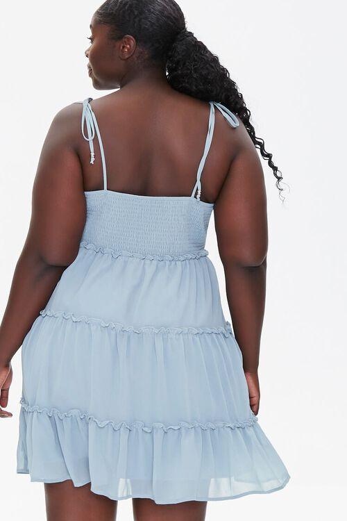 Plus Size Chiffon Cami Dress, image 3