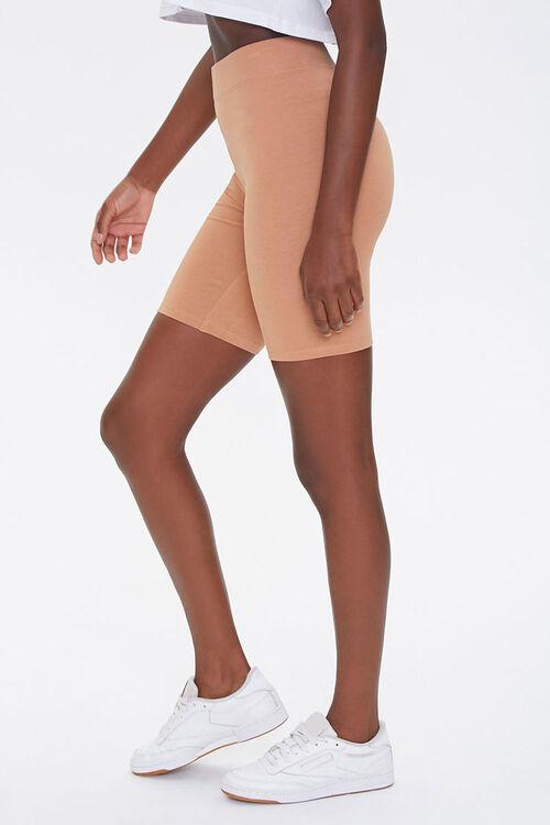 CAMEL Basic Cotton-Blend Biker Shorts, image 3