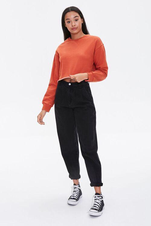 Raw-Cut Fleece Sweatshirt, image 4