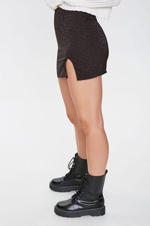 Leopard Print Mini Skirt, image 2