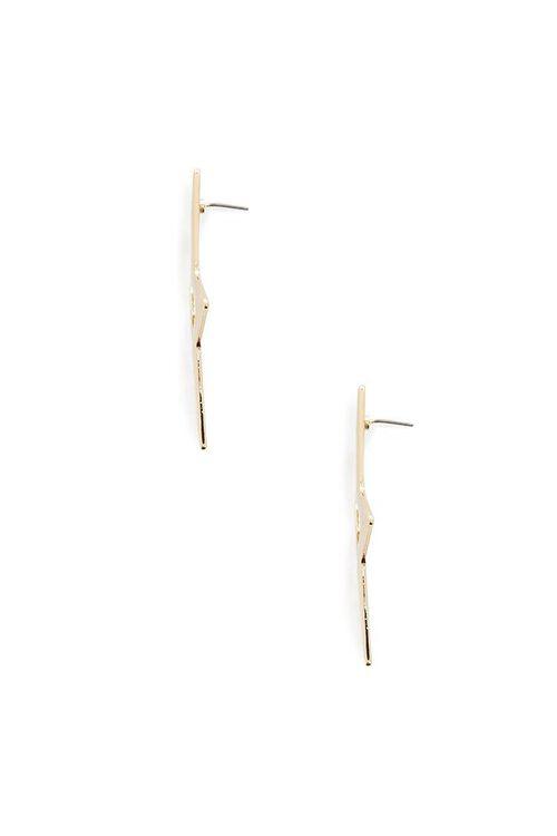 GOLD Oversized Star Stud Earrings, image 2