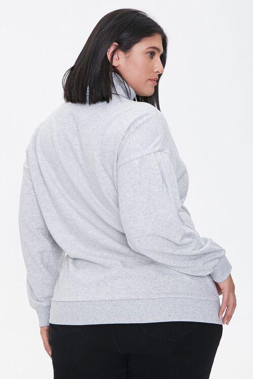 Plus Size Cherub Graphic Sweatshirt, image 3