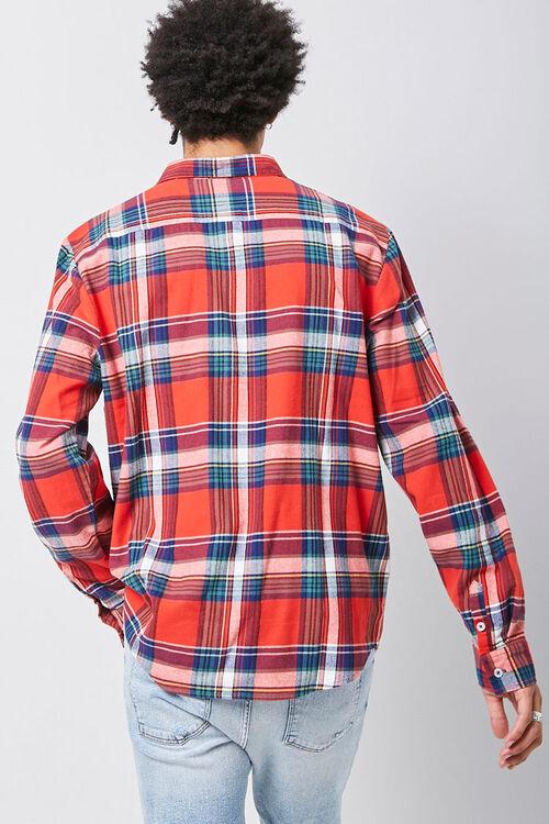 Classic Fit Plaid Flannel Shirt, image 3