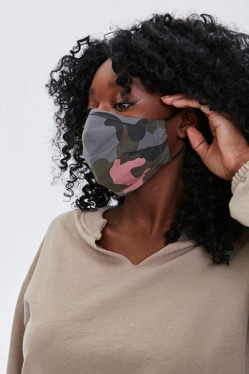 Camo Joggers & Face Mask Set, image 6