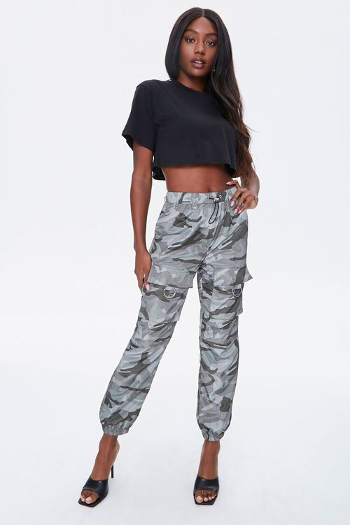 Camo Cargo Ankle Joggers, image 4