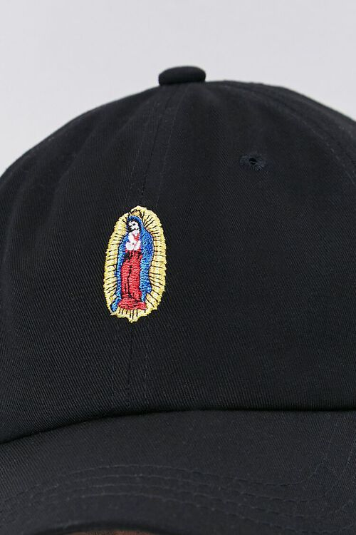 Our Lady of Guadalupe Embroidered Graphic Dad Cap, image 4