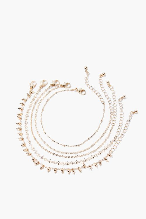 Assorted Chain Bracelet Set, image 2
