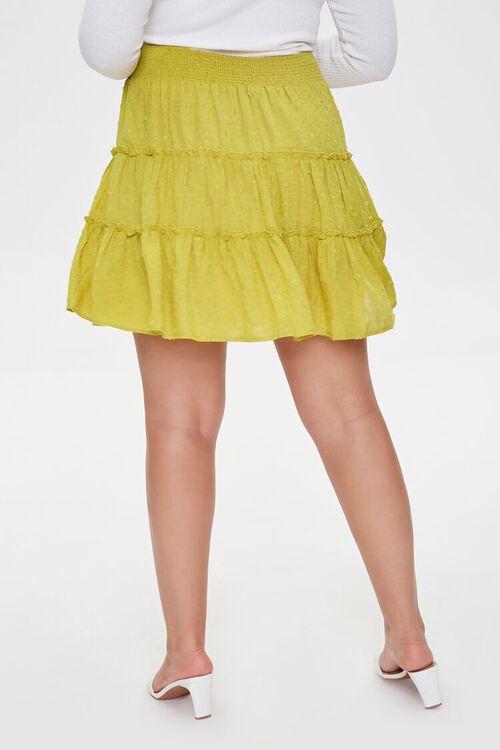 Plus Size Clip Dot Mini Skirt, image 4