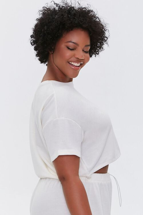 Plus Size French Terry Tee, image 2