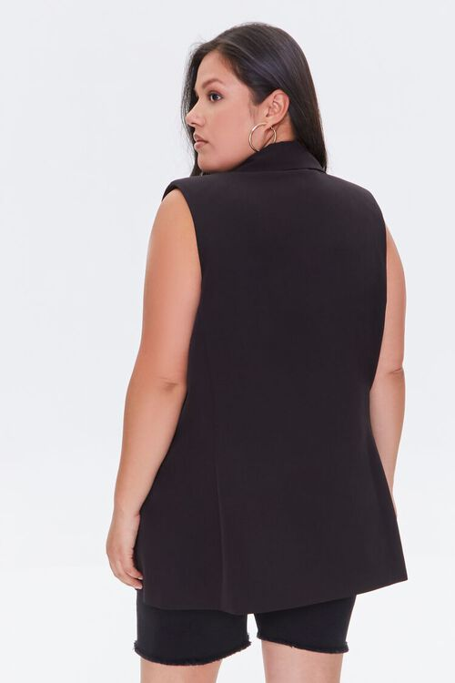 Plus Size Double-Breasted Vest, image 3