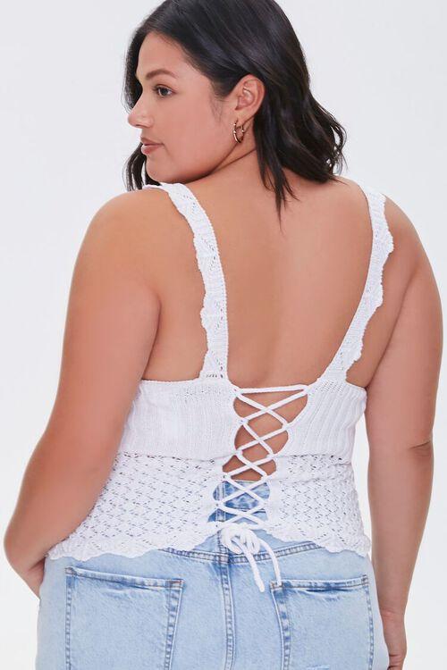 Plus Size Crochet Crop Top, image 3