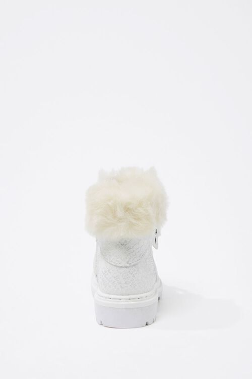 Girls Faux Fur-Trim Booties (Kids), image 2